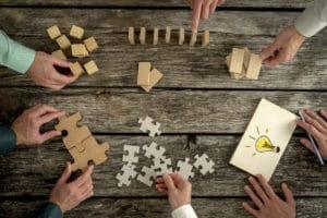 strategisch Netzwerken und Freunde finden. Netzwerk aufbauen