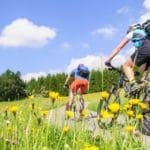 Fahrradfreunde unterwegs