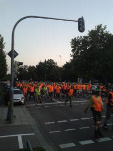 Blade Guards sorgen für Sicherheit bei der Blade Night München