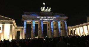 Festival of Lights Berlin Freunde finden