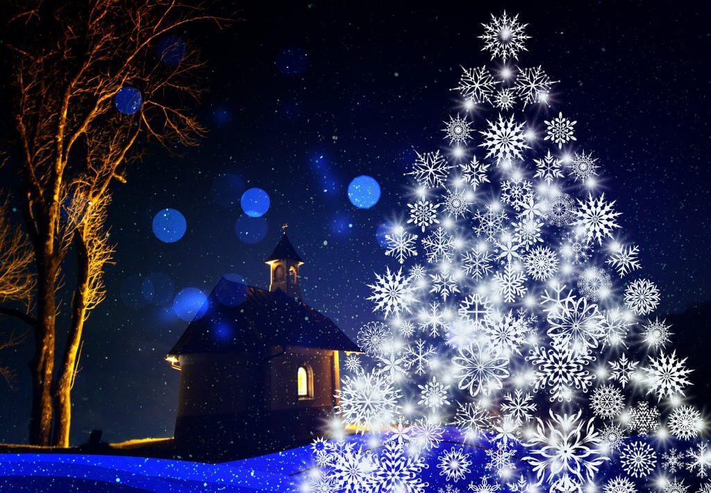 Weihnachten Advent Karte