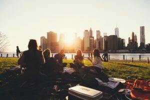 Freunde finden im Sommer Festival Freunde finden
