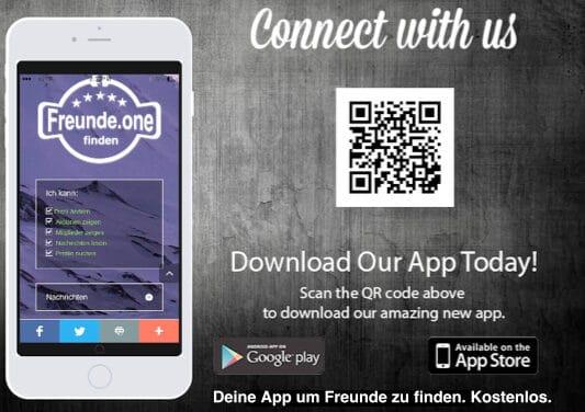 Freunde finden per App
