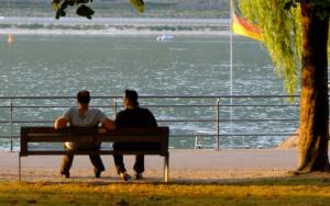 Deutsch lernen Freunde finden in Deutschland