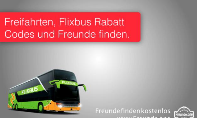 Flixbus Rabatt und Freifahrten gewinnen