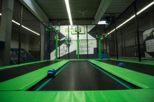 Basketball spielen Berlin Halle