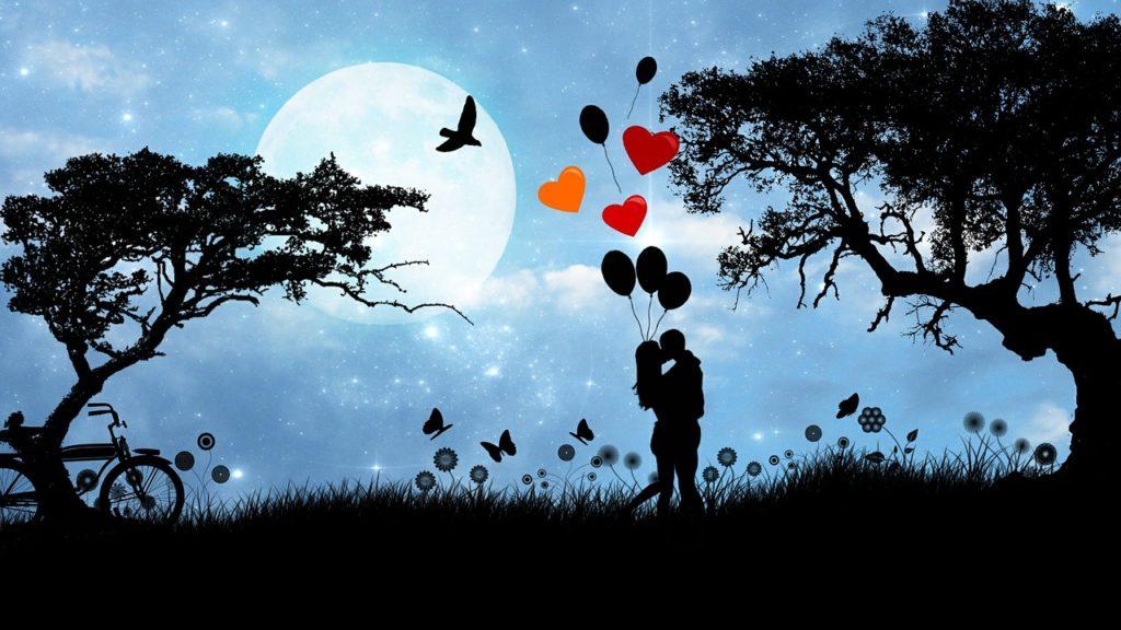 romantische stimmung