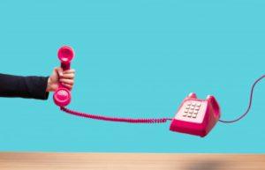 austauschen telefonieren