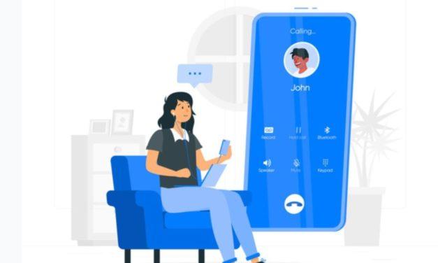 Gesprächsthemen beim Telefonieren