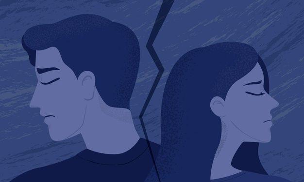 Freunden durch die Trennung helfen