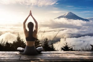 Yoga mit Freunden