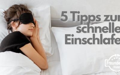 Wie schlaf ich schnell ein? 5 Tipps die dir helfen