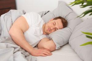 guter Schlaf nachts